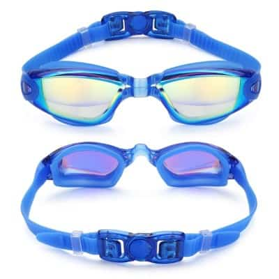 Aegend Swim Goggles, Swimming Goggles No Leaking Anti Fog UV Protection Triathlon