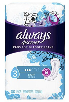 Always Discreet, Incontinence Liners, Ultra Thin, Regular Length
