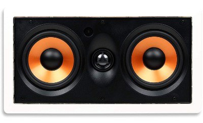 Micca M-CS Center Channel In-Wall Speaker with Dual 5.25 Inch Woofers