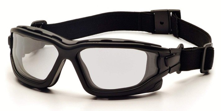 Pyramex I-Force Sporty Dual Pane Anti-Fog Goggles