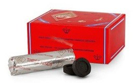 THREE KINGS 40MM CHARCOAL BOX- SUPPLIES FOR HOOKAHS