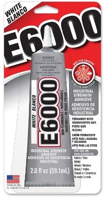 E6000 237040 Craft Adhesive - 2 fl oz White