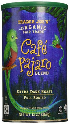 Trader Joe's Cafe Pajaro 100% Arabica Roasted Whole Bean Coffee