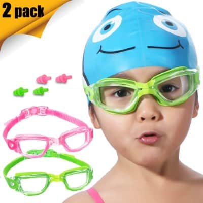 Kids Swim Goggles 2 Pack