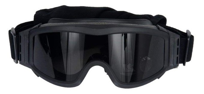 Lancer Tactical Airsoft Safety Goggles Basic with Multi Lens Kit
