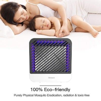Ommani Bug Zapper Mosquito Zapper Electric Indoor Mosquito Killer Trap