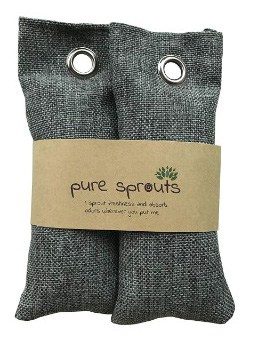 SALE Ends Jan 31!! Pure Sprouts Reusable Bamboo Charcoal Purifying Bags