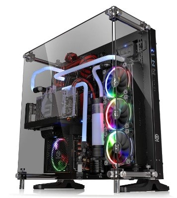 Thermaltake Core P5 Tempered Glass Black Edition ATX Open Frame Panoramic
