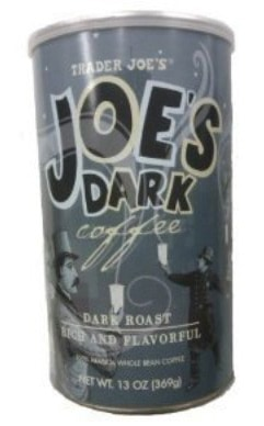 Trader Joe's Joe's DARK COFFEE Dark Roast Rich and Flavorful