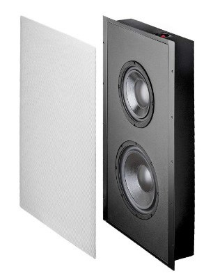 #12  osd in wall 300w low profile home theater subwoofer trimless design