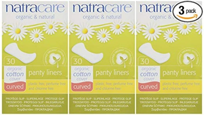 Panty Liners Curved 30ct - Panty Liner