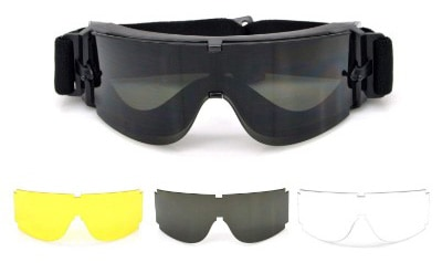 Elemart Tactical Airsoft Goggles - Safety Goggles Army Goggles