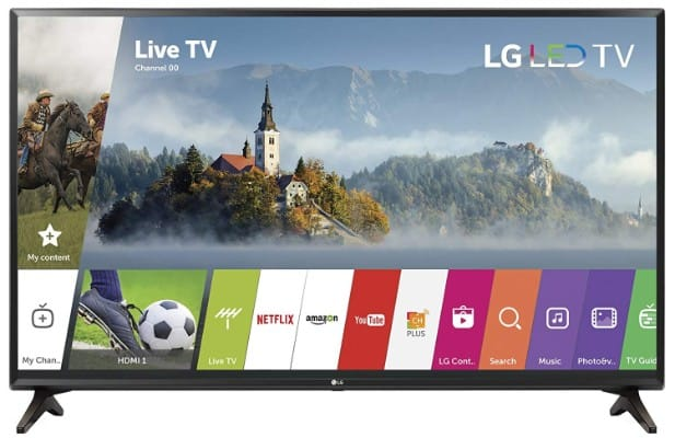 LG Electronics 32LJ550B 32-Inch 720p Smart LED TV (2017 Model)