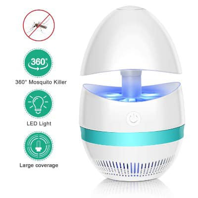 AdorioVix Bug Zapper, Indoor Electronic Mosquito Killer Lamp