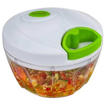 Brieftons Manual Food Chopper, Compact & Powerful Hand Held Vegetable Chopper