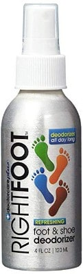 Effective Foot and Shoe Deodorant Spray