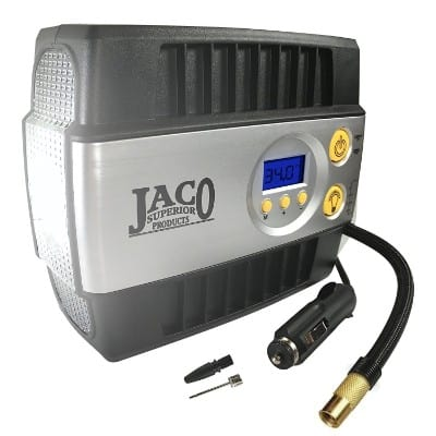 JACO SmartPro Digital Tire Inflator Pump - Premium 12V Portable Air Compressor