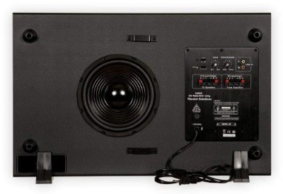 Theater Solutions SUB8S 250 Watt Surround Sound HD Home Theater Slim Powered Active
