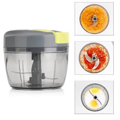 Magiclux Tech Manual Food Chopper, Vegetable Processor