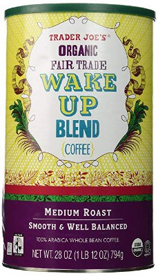 Trader Joe's Organic Fair Trade Wake Up Blend Coffee