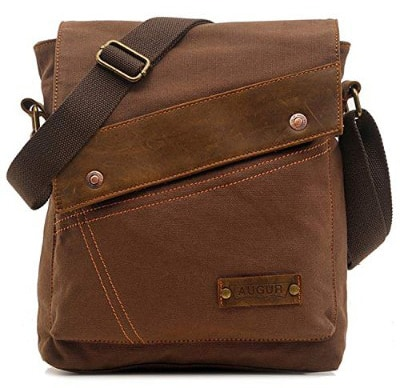 Aibag Messenger Bag, Vintage Small Canvas Shoulder Crossbody Purse