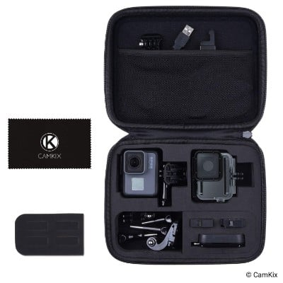 CamKix Compatible Case for GoPro Hero 7:6 : 5 Black