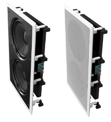 OSD Audio IWS88 In Wall 350W Home Theater Subwoofer