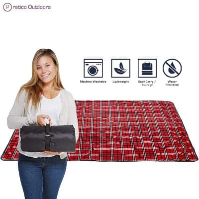 Premium Extra Large Picnic Blanket Machine Washable