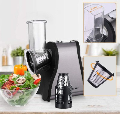 Professional Salad Maker, Electric Slicer Shredder:Graters:Chopper