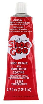 Shoe Goo Repair Adhesive for Fixing Worn Shoes or Boots