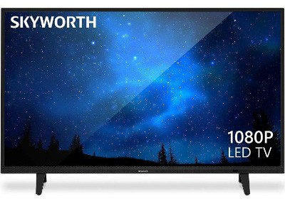 Skyworth E-Series 1080P 40 Inch LED TV 60 Hz DTS Dolby Audio Sound 40E2