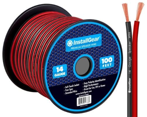 Speaker Wire Cable 50 100 250ft 500ft In Wall CL2 Bulk Gauge 12 14 16 18 AWG Lot
