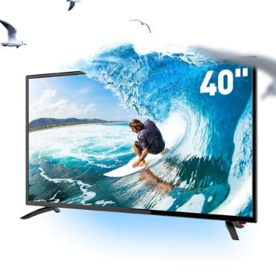 SANSUI TV LED Televisions 40'' FHD DLED TV (1080p) with Flat Screen TV