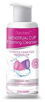Dutchess Menstrual Cup Foaming Cleanser - Multi-Use Feminine Wash