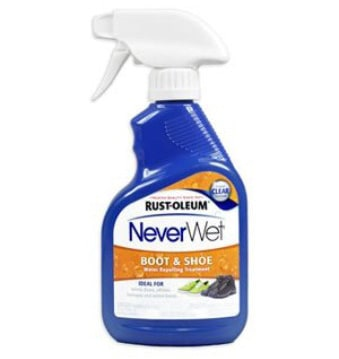 Rust-Oleum 280886 NeverWet 11-Ounce Boot and Shoe Spray