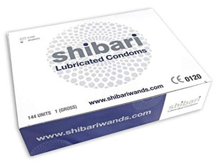 Shibari Premium Lubricated Latex Condoms