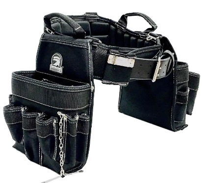 TradeGear MEDIUM 31-35 Electrician's Belt & Bag Combo