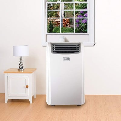 Black + Decker 12000 BTU Portable Air Conditioner Unit + 10000 BTU Heater