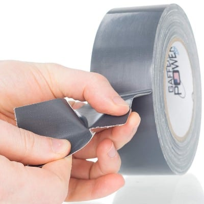 Gaffer Power PowerSteel Heavy Duty Duct Tape - 2 in X 25 Yards – Waterproof