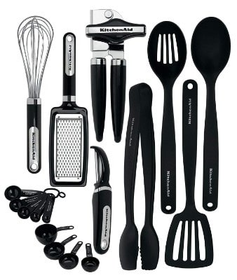 KitchenAid KC448BXOBA 17-Piece Tools and Gadget Set