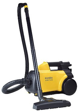 Eureka Mighty Mite Vacuum Cleaner, Corded Canister, 3670G- Yellow