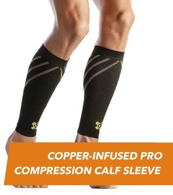 CopperJoint – Copper-Infused PRO Compression Calf Sleeve