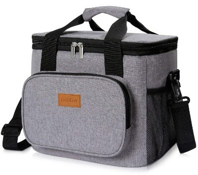 Lifewit Insulated Lunch Bag Box 15L ( 17-Can ) Soft Cooler Bag