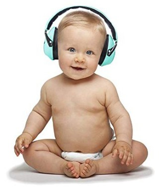 Premium Baby Ear Muffs by Exceedbuy -Unisex Hearing Protection Noise Cancelling Headphones