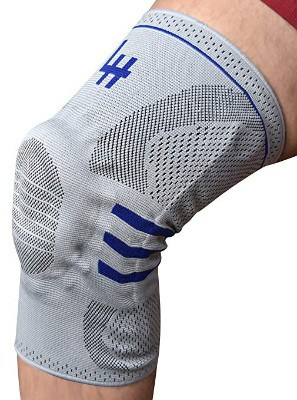 Active Relief Knee Brace by Lifehapps - Gel Knee Support and Compression Sleeve