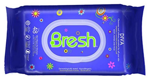 Body Wipes for Women by BRESH