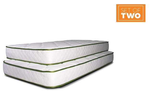 Dreamfoam Bedding Slumber Essentials Premium Foam 7-Inch Twin Mattresses