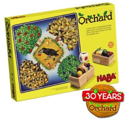 HABA Orchard Game - A Classic Cooperative Introduction to Board Games