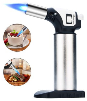 Kitchen Butane Torch Lighter, Blow Torch Lighter