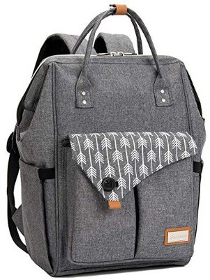 Lekebaby Large Diaper Bag Backpack